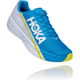 Hoka One One Rocket X Shoes, white/diva blue